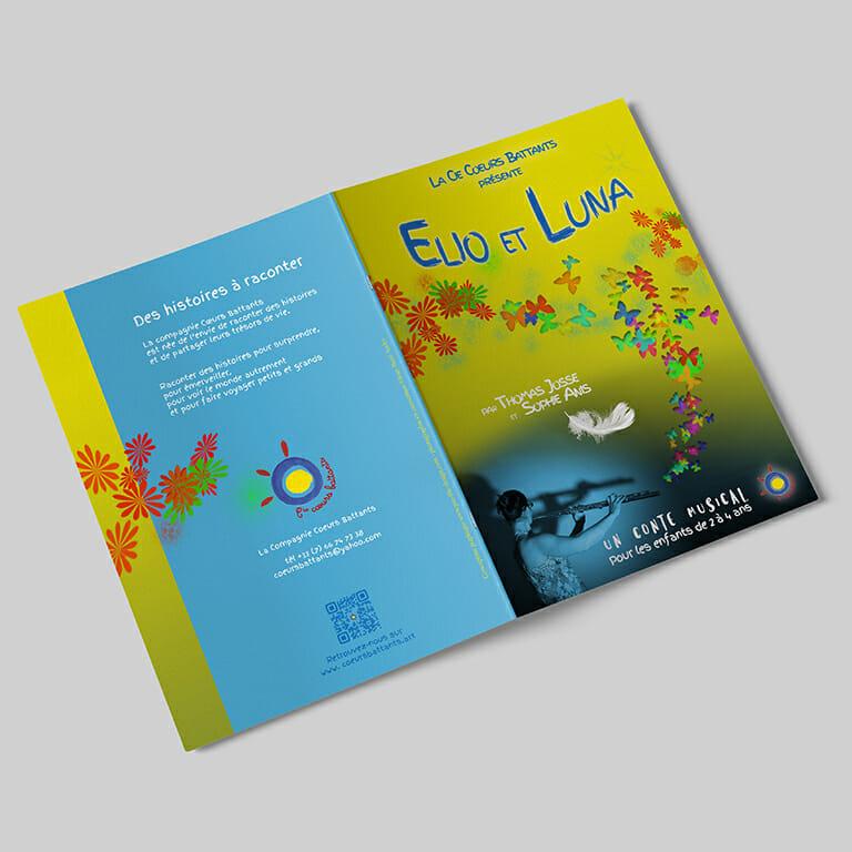 Brochure Elio et Luna Cie Coeurs Battants