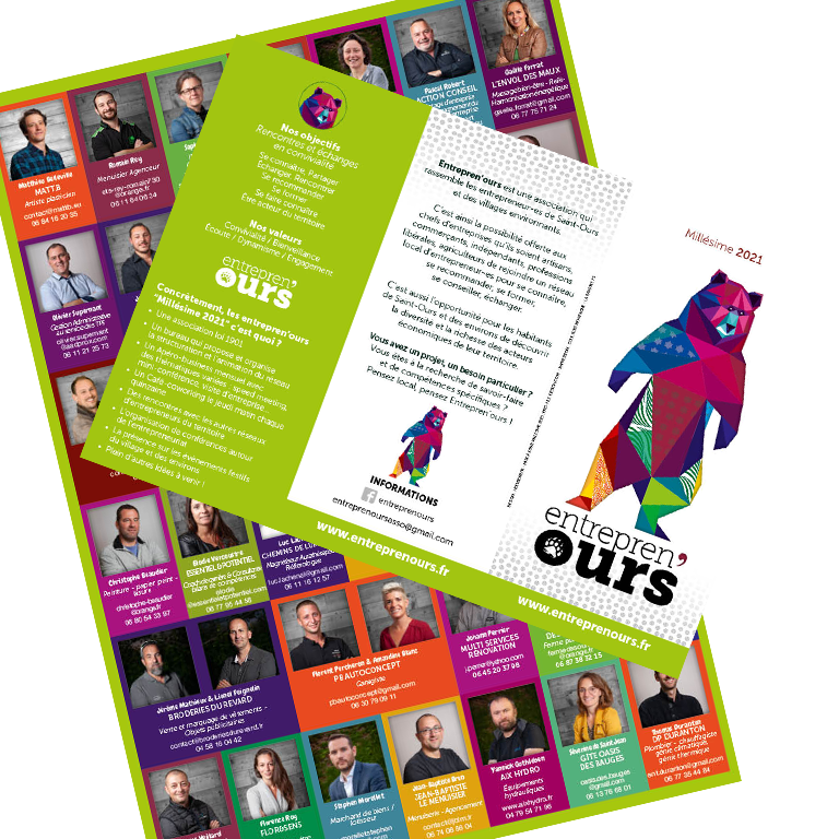 Flyer édition 2021 Association Entrepreneurs