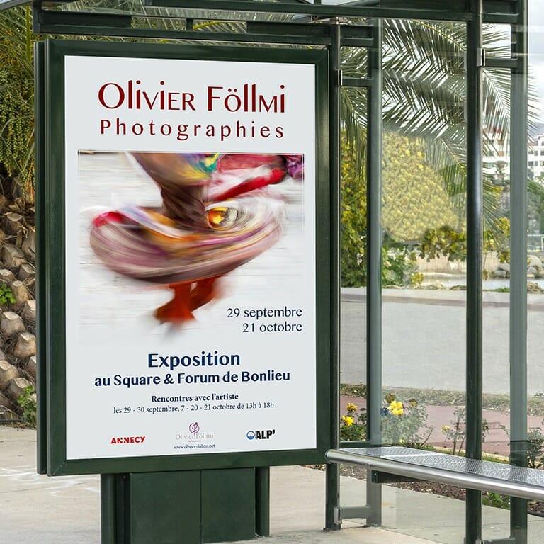 Affiche Exposition Olivier Föllmi
