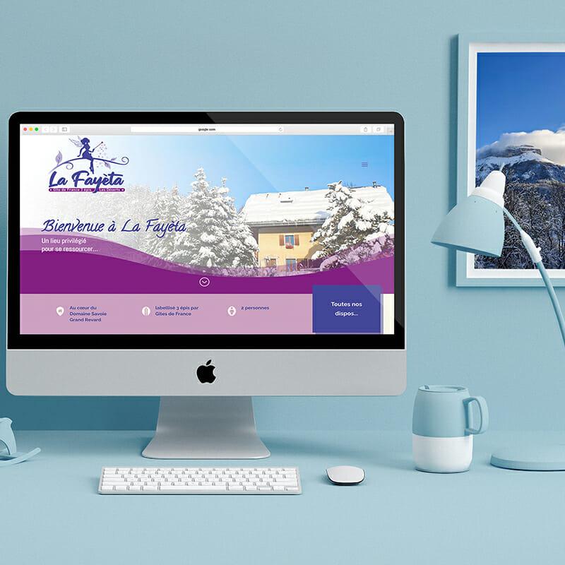 Site web du Gîte La Fayèta