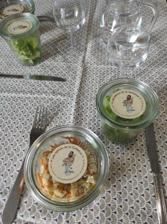 Étiquettes pour bocaux - La boîte à Déjeuner