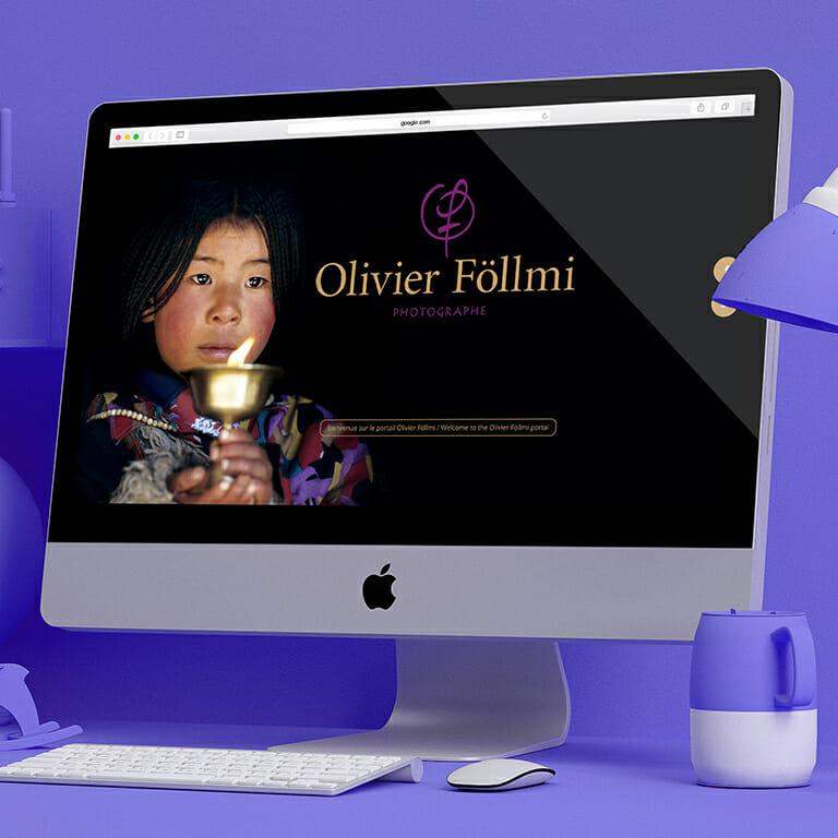 Site Web Portail Olivier Föllmi