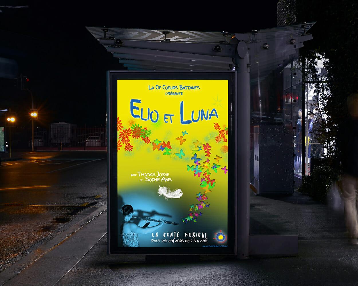 Affiche Elio et Luna
